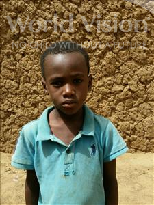 Ibrahim, aged 6, from Niger, is hoping for a World Vision sponsor