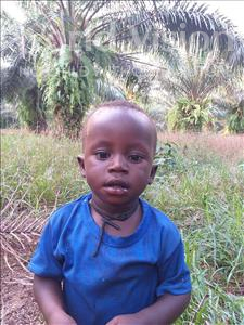 Choose a child to sponsor, like this little boy from Jong, Kantei age 2