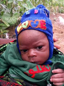 Choose a child to sponsor, like this little boy from Imperi, Jeremaiah age 1