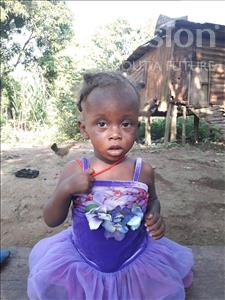 Choose a child to sponsor, like this little girl from Imperi, Aminata age 1