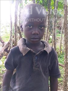 Choose a child to sponsor, like this little boy from Imperi, Albert Junior age 2