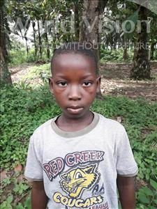 Choose a child to sponsor, like this little boy from Tegloma, Robert age 10
