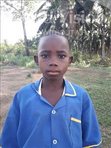 Choose a child to sponsor, like this little boy from Tegloma, Sheku age 12