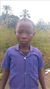 Choose a child to sponsor, like this little boy from Tegloma, Osman age 10