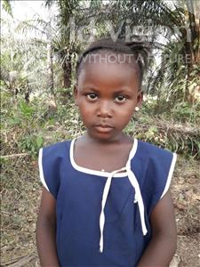 Choose a child to sponsor, like this little girl from Tegloma, Adama age 6