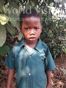 Choose a child to sponsor, like this little boy from Tegloma, Sulaiman age 6