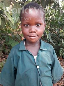 Choose a child to sponsor, like this little boy from Tegloma, Borbor age 7