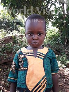 Choose a child to sponsor, like this little boy from Tegloma, Jonathan age 3