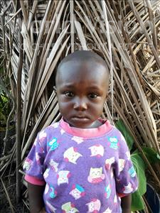Choose a child to sponsor, like this little boy from Tegloma, Sayo age 1