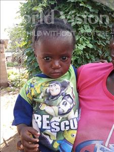 Choose a child to sponsor, like this little girl from Tegloma, Yeama age 1