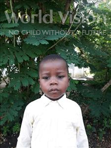 Choose a child to sponsor, like this little boy from Tegloma, Ibrahim age 3