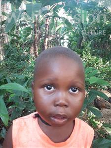 Choose a child to sponsor, like this little boy from Tegloma, Hassan age 1