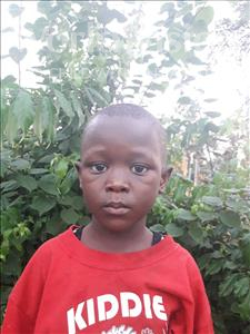 Choose a child to sponsor, like this little boy from Tegloma, Steven age 1