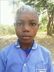 Choose a child to sponsor, like this little boy from Jaiama Bongor, Musterpha age 12