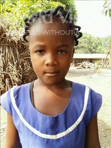 Choose a child to sponsor, like this little girl from Jaiama Bongor, Yatta age 7