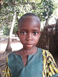 Choose a child to sponsor, like this little boy from Jaiama Bongor, Mohamed Junior age 6