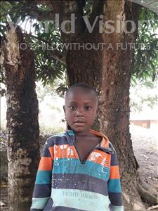 Choose a child to sponsor, like this little boy from Jaiama Bongor, Abubakarr age 5