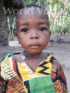 Choose a child to sponsor, like this little boy from Jaiama Bongor, Abdul age 1