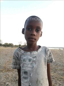 Febronica William, aged 8, from Tanzania, is hoping for a World Vision sponsor