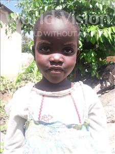 Choose a child to sponsor, like this little girl from Kilimatinde, Saraphina Erick age 5