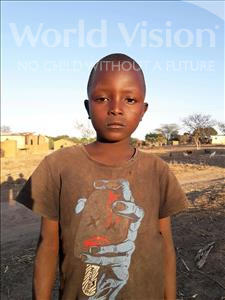 Choose a child to sponsor, like this little boy from Kilimatinde, Jonas Emmanuel age 7