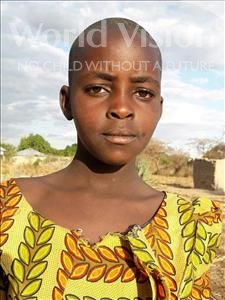 Choose a child to sponsor, like this little girl from Kilimatinde, Neema Frank age 10