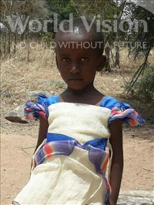 Choose a child to sponsor, like this little girl from Kilimatinde, Zuhura Msafiri age 6