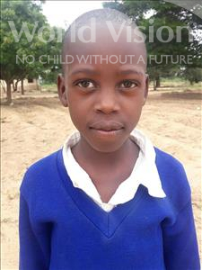 Kevin Zabron, aged 9, from Tanzania, is hoping for a World Vision sponsor