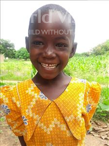 Choose a child to sponsor, like this little girl from Kilimatinde, Lucia age 7