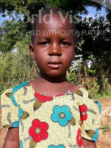 Choose a child to sponsor, like this little girl from Kilimatinde, Lucy age 5