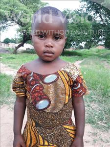 Choose a child to sponsor, like this little girl from Kilimatinde, Nusurati age 4