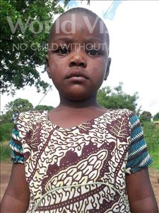 Choose a child to sponsor, like this little girl from Kilimatinde, Sophia age 6