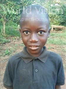 Choose a child to sponsor, like this little boy from Kibiga-Mulagi, Emmanuel age 8