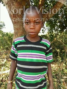 Choose a child to sponsor, like this little boy from Kibiga-Mulagi, Derrick age 9