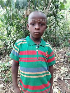 Choose a child to sponsor, like this little boy from Kibiga-Mulagi, Samuel age 8