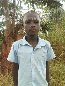 Ivan, aged 9, from Uganda, is hoping for a World Vision sponsor
