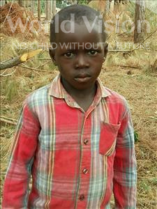 Choose a child to sponsor, like this little boy from Kibiga-Mulagi (Kimu), Kasajja Moris age 6