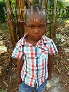 Choose a child to sponsor, like this little boy from Kibiga-Mulagi (Kimu), Job age 1