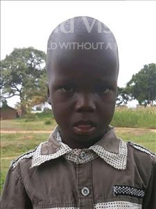 Choose a child to sponsor, like this little boy from Busitema, Isaac age 6
