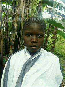 Choose a child to sponsor, like this little girl from Ntwetwe, Justine age 8