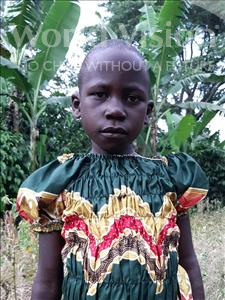 Choose a child to sponsor, like this little girl from Ntwetwe, Iren age 8