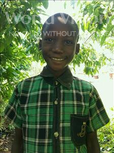Choose a child to sponsor, like this little boy from Ntwetwe, Derick age 11