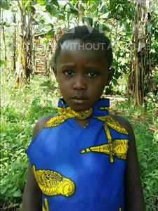 Choose a child to sponsor, like this little girl from Ntwetwe, Oliver age 5