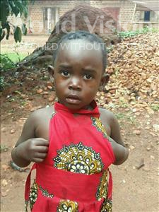 Choose a child to sponsor, like this little girl from Ntwetwe, Christine age 3