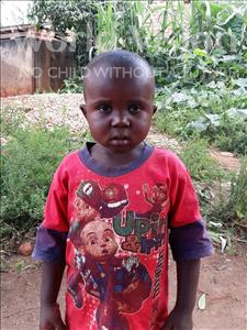 Choose a child to sponsor, like this little boy from Ntwetwe, Spacious age 3