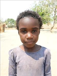 Choose a child to sponsor, like this little girl from Keembe, Christabel age 9