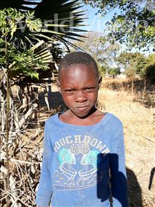Choose a child to sponsor, like this little boy from Keembe, Timothy age 8
