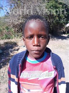 Choose a child to sponsor, like this little girl from Keembe, Prince Joe age 5