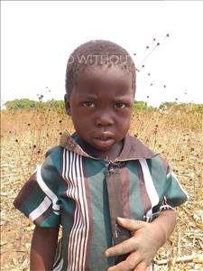 Choose a child to sponsor, like this little boy from Keembe, Isaiah age 5