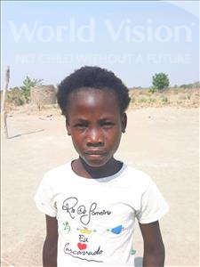 Choose a child to sponsor, like this little girl from Keembe, Ester age 7